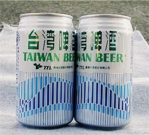 old school Taiwanese beer.