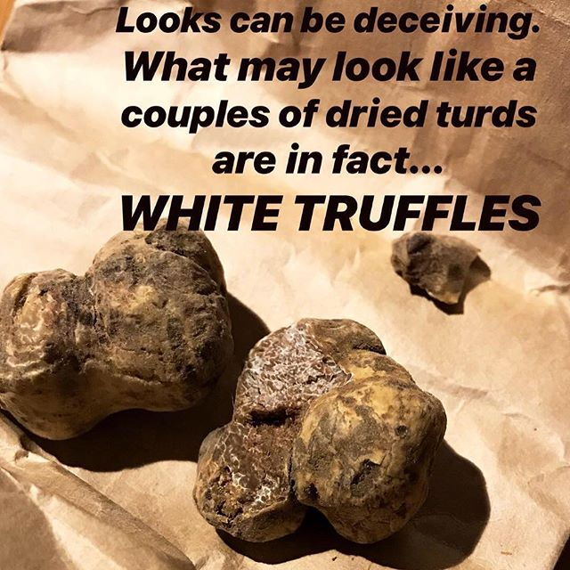 On any given Saturday night, this is how we rock it. ...... no not really. Take 2: only because the last one was terrible and they gave us others to try. #truffleheaven