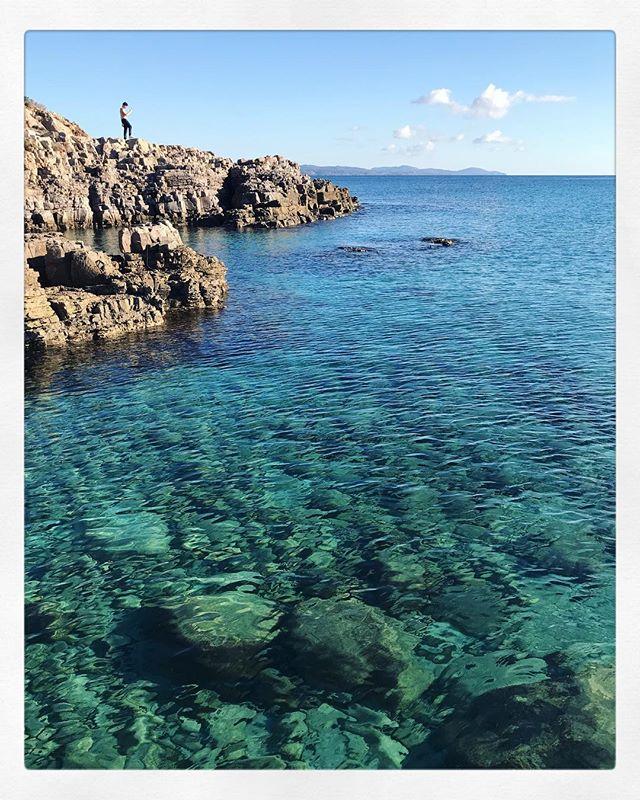 #Sardinia #crystalclearwater #winterbeachholiday