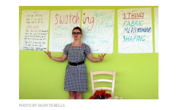 Ysolda teaching at SquamItalia