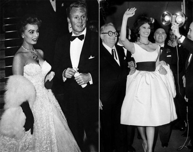 Sofia Loren second image at the Cannes Festival