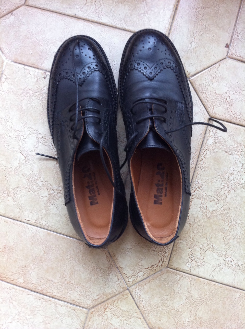 Mat : 20 - Handmade in Italy - Brogues shoes
