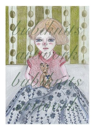 Rita's got a Secret - Bubiknits artworks