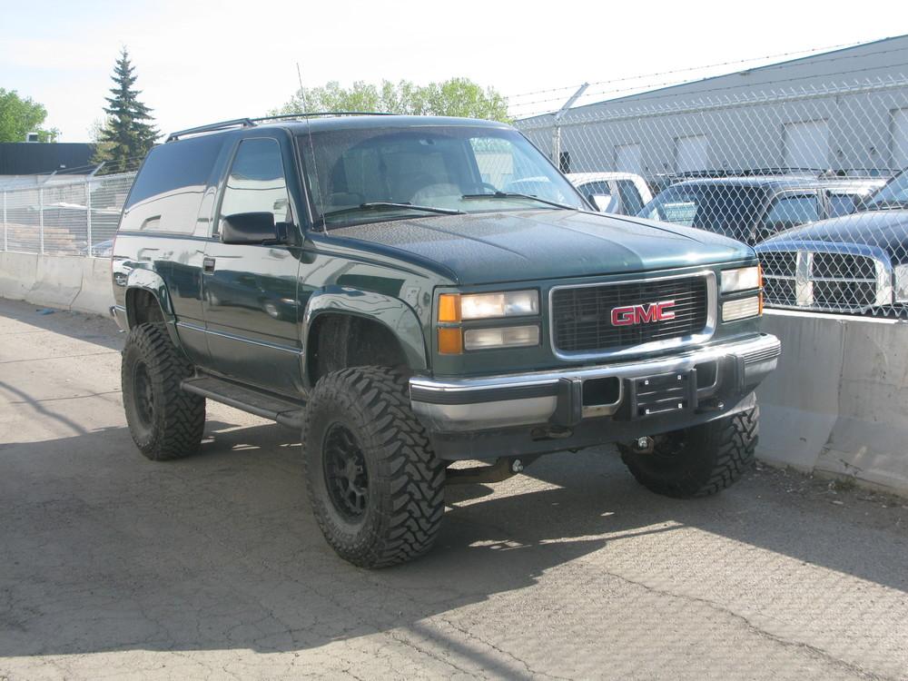 "Jeep 4 Lift Kit 97 GMC Yukon 6"" RCD Lift Kit. 35"" Toyo Open Country MT's ..."