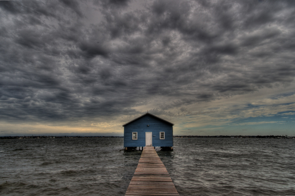 Matilda Bay boatshed, possibly the most photographed building in Perth.