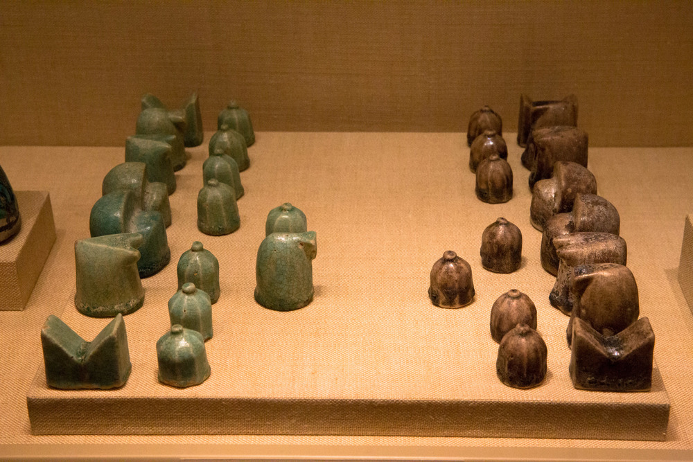 One of the earliest chess sets in existence