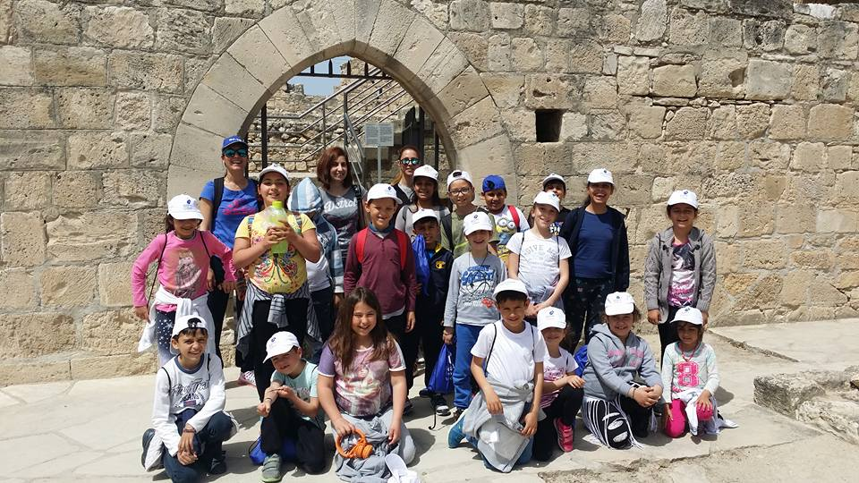 The Delta Kourris Plan in action! A group of children in Kolossi Medevial Castle learning about the habits and games of children lived in Milldle Age.