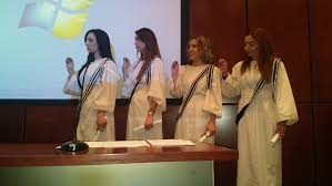 Ορκωμοσία τωνπρώτωναποφοίτωντου Κυπριακού Ινστιτούτου ΣυνθετικήΨυχοθεραπείας στο Πρόγραμμα Επαγγελματικής Μετεκπαίδευσης στη Συνθετική Ψυχοθεραπεία.