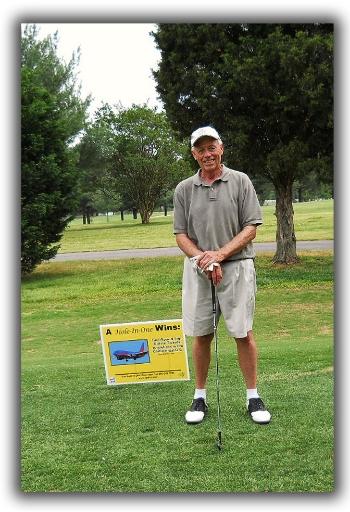 Dickie Walker, 2011 Hole-in-One winner