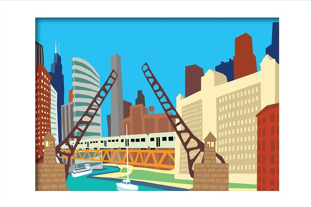 BRIDGES 11 x 14 Print