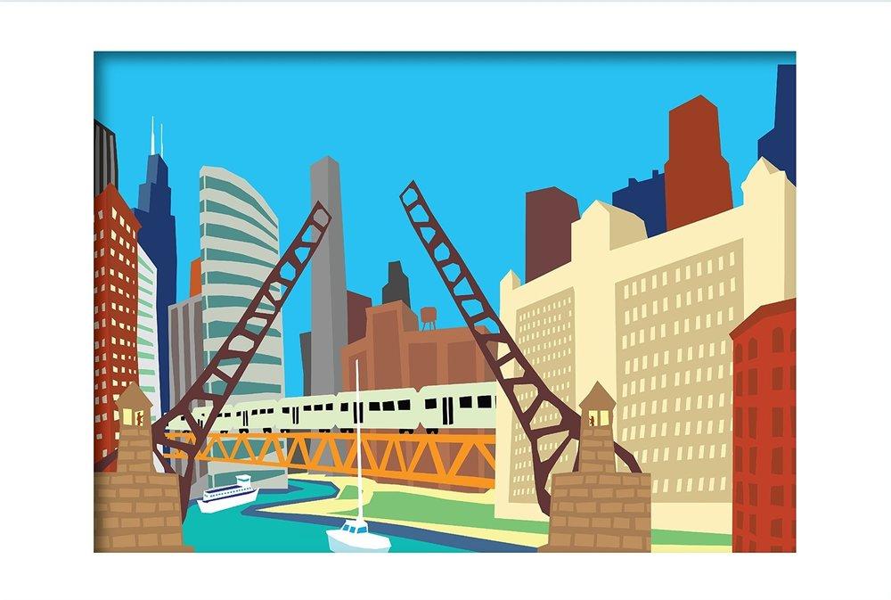 BRIDGES 16 x 20 Print