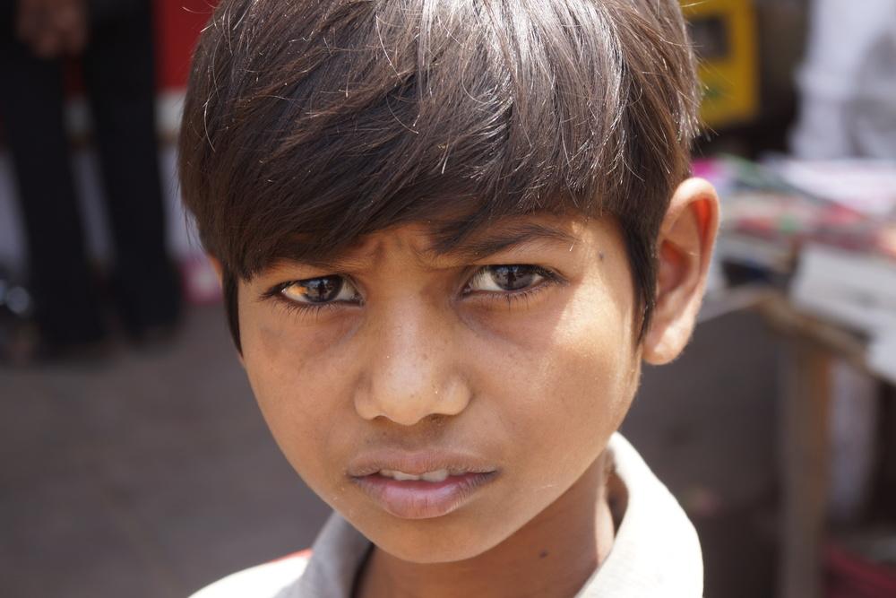 Kid. Old Delhi, India