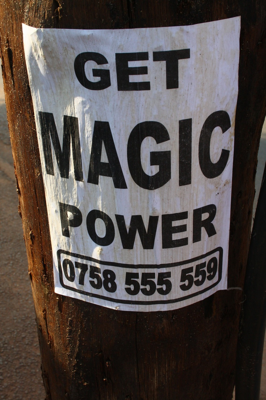 Advertisement. Kampala, Uganda