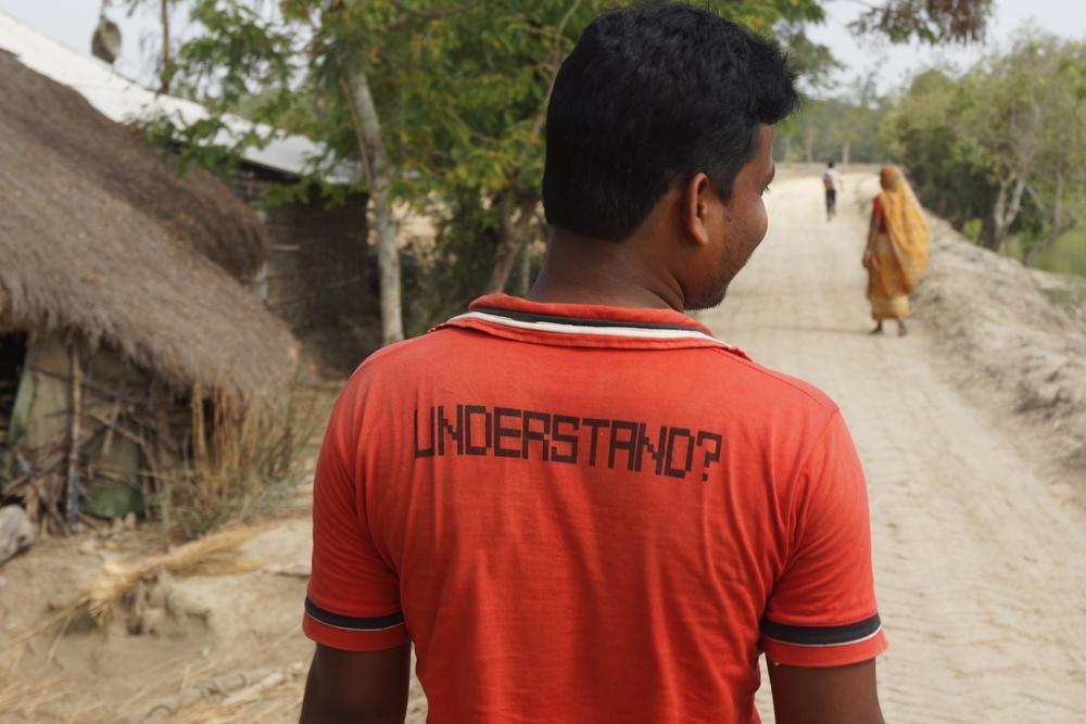 Captain Narajan. Sundarbans, West-Bengal.