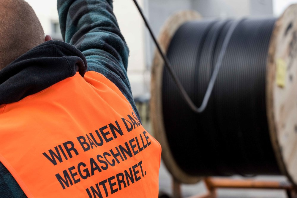 Optical Fibre Network Installation in Germany: Visual Storytelling for Deutsche Telekom
