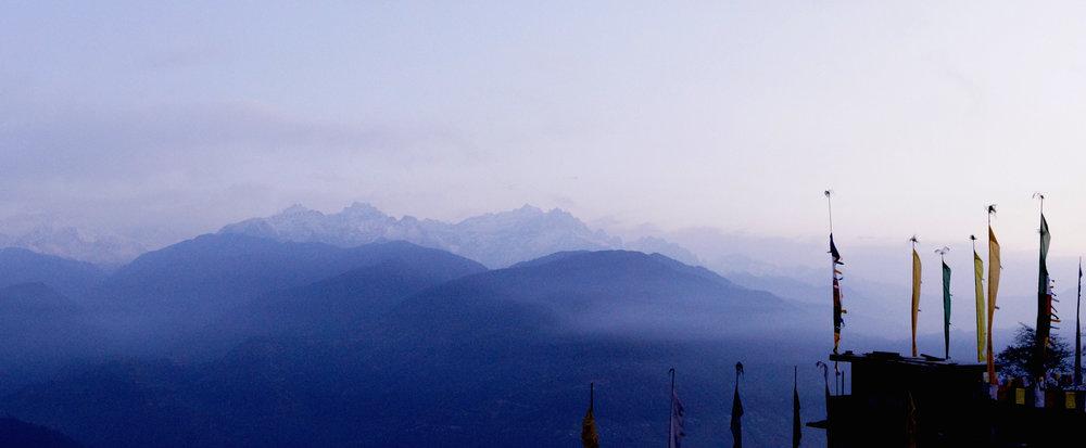 Kanchenjunga Range, Sikkim.