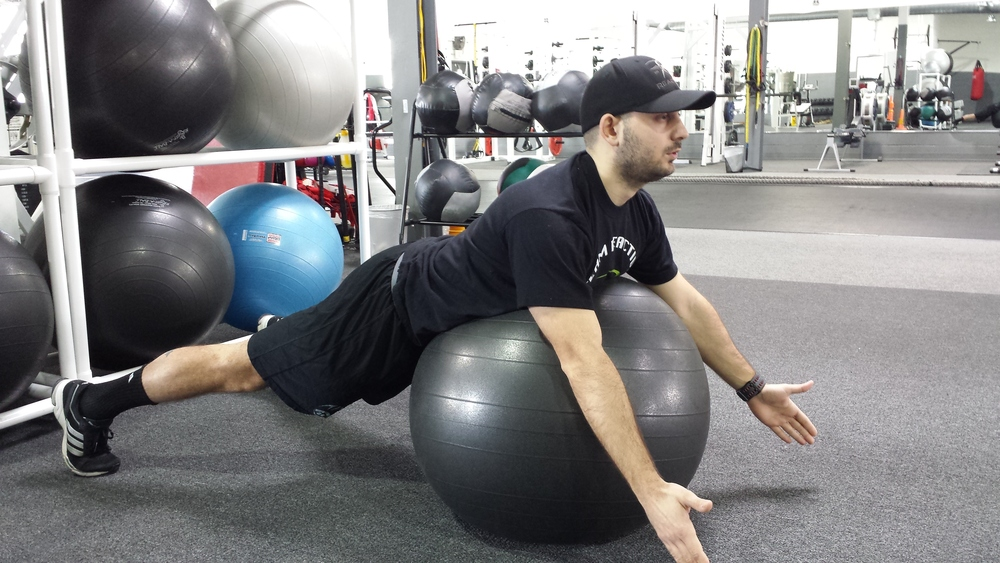 Prone Shoulder Y's