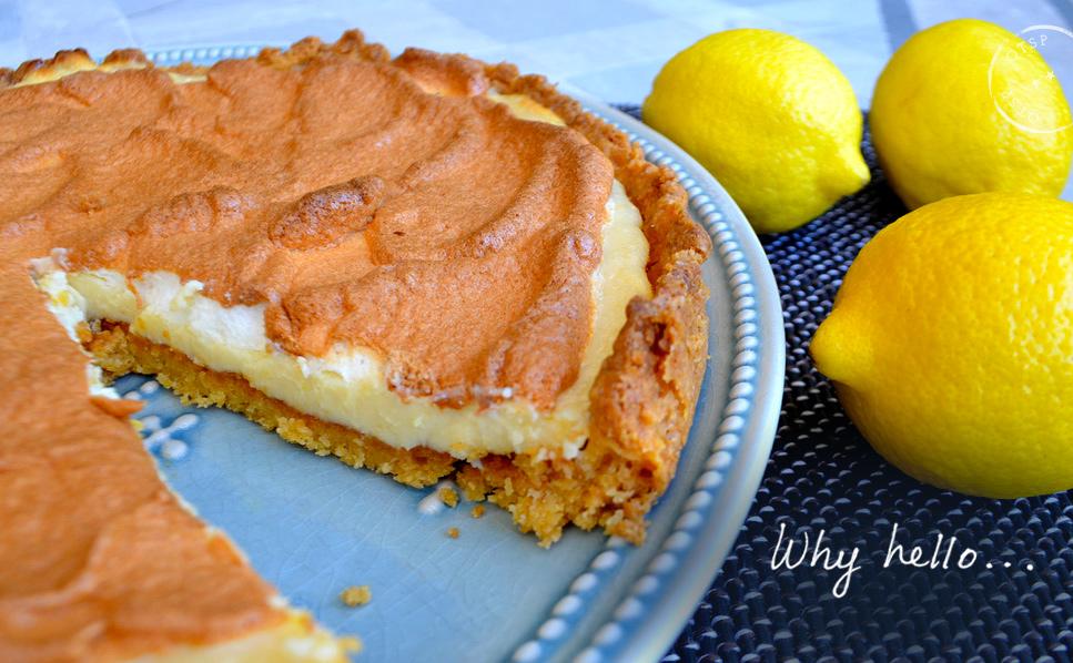 Saint Aubin sur Mer inspired Lemon Tart