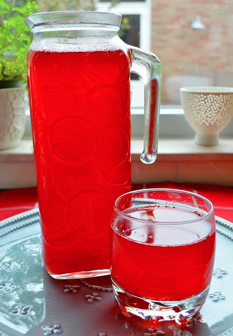 Homemade Cranberry Drink in: It's a Snap!