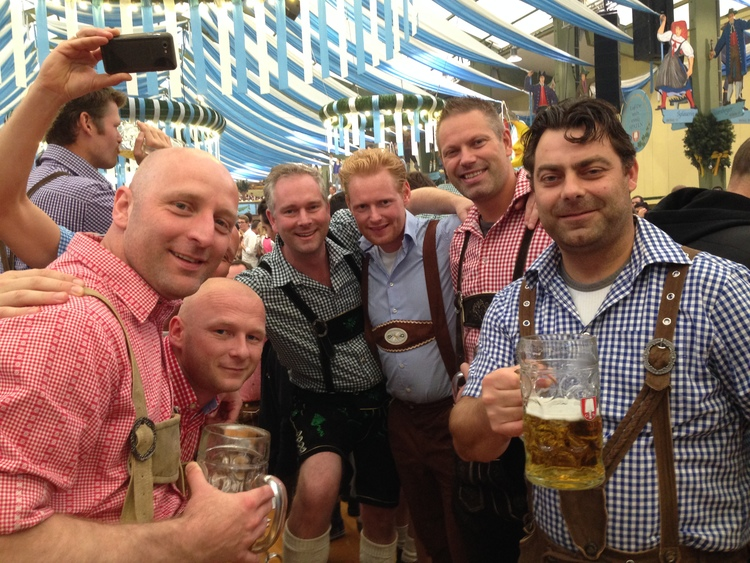 A Manly Oktoberfest in Munich   in:  New Traditions