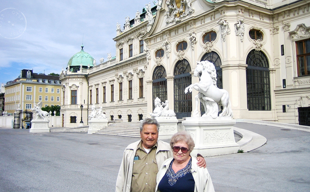 Grandpa and Grandma, Eurotrip 2007.