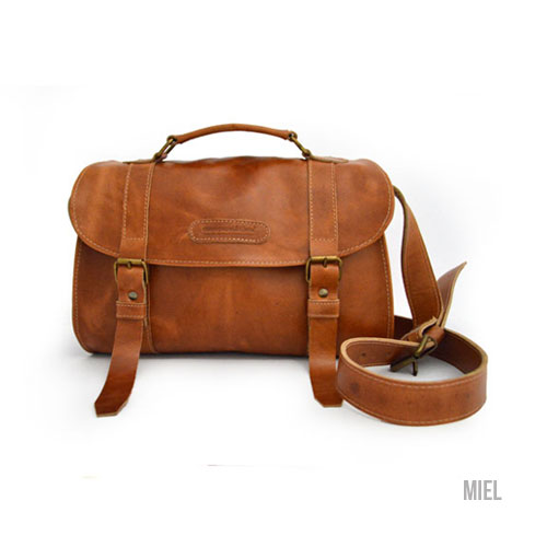 Costa Rican Crossbody Leather Bag