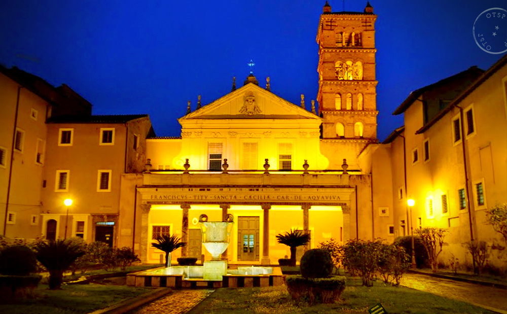 Santa Cicilia in Trastevere.