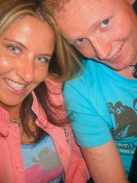 Here we are circa 2006 reunited in Schiphol airport, such young punks :)