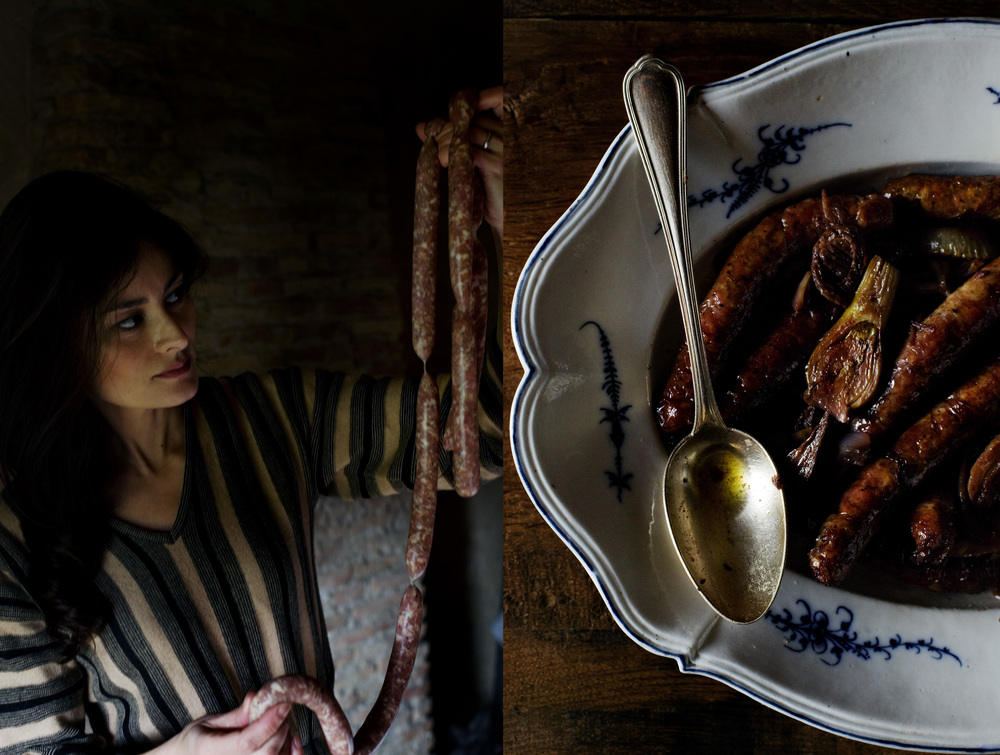Mimi Thorisson's Roast Sausages with Fennel. (Photo via Manger)