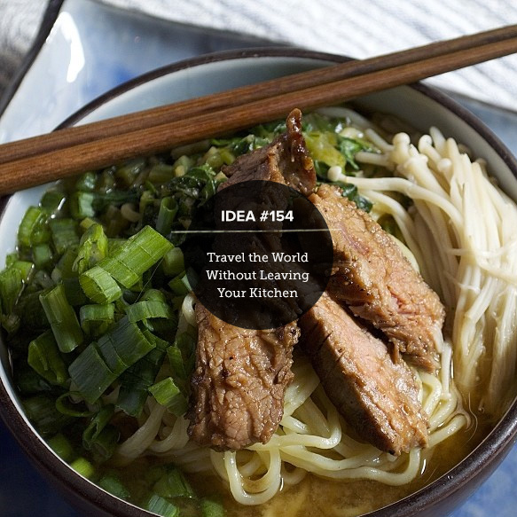 Blue Apron : Travel the World without Leaving your Kitchen