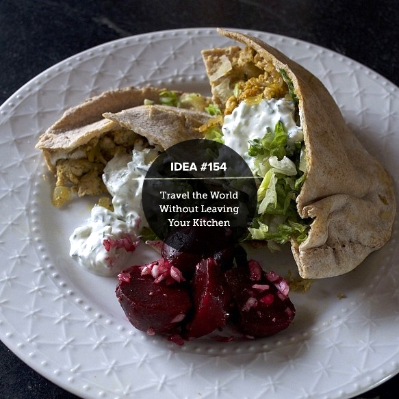 IDEA154: Travel the World Without Leaving Your Kitchen (Blue Apron)