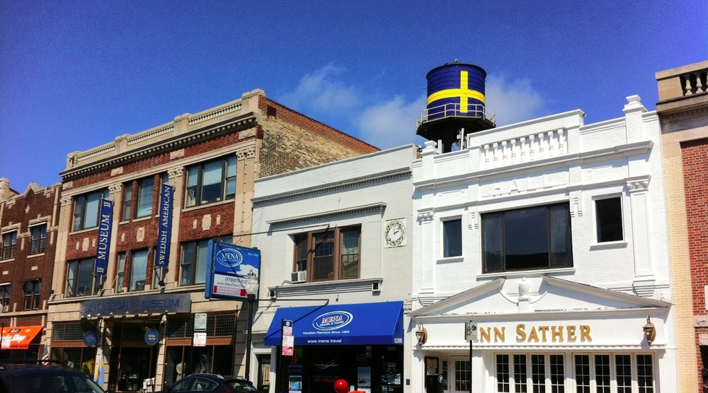 Andersonville : Chicago's Historic Swedish Neighborhood photo: Chicago Architecture