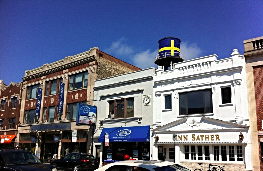 Chicago's Andersonville Neighborhood  photo:  Chicago Architecture