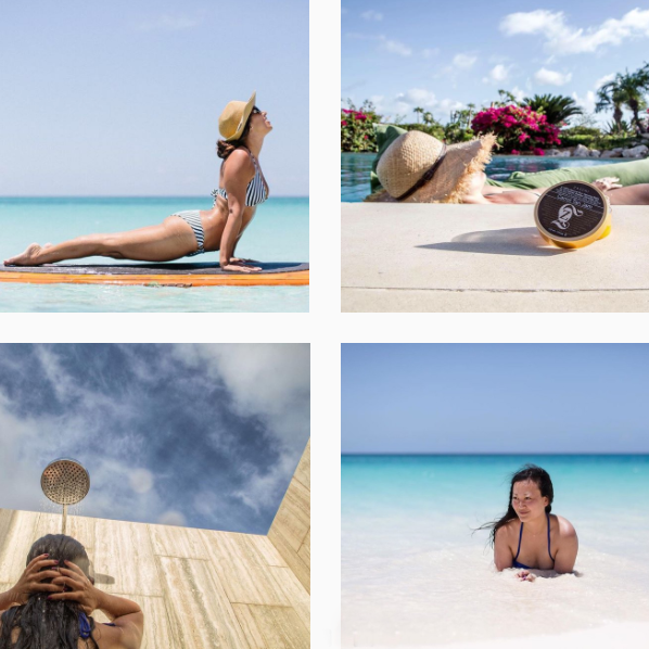 ZASSNI LUXURY SKINCARE   ____ #CaptureAnguilla Sponsor, Instagram Takeover