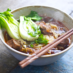 DINING TRAVELER   ____ Virtual Travel : Taiwanese Beef Noodle Soup