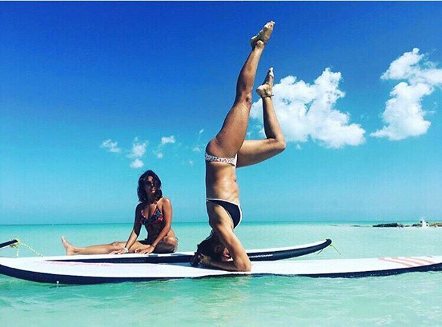 Even the most adventurous of us can use a helpful nudge from a friend to keep us pushing ourselves out of our comfort zones. Tag a friend who helps you stay in adventure shape! #LiveLikeYoureTraveling . 📷: @leslovesyou . . . .  #takemeback #takemebackplease #touristlife #yogaposes #yogalovers #islaholbox #holbox #travelmindset #trynewthings #livewell #adventureinspired #livefull #travelinspired #exploremore #passionpassport #lifeofadventure #sweetescape #livethelittlethings #globalcitizen #welltraveled #trytheworld #visualsoflife #wander #goodforthesoul #chicagoblogger #theartofslowliving #chicagogrammer