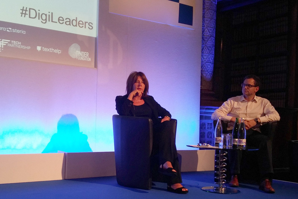 Karen Price OBE, Director, the Tech Partnership and Ben Rowland, Co-Founder, Arch