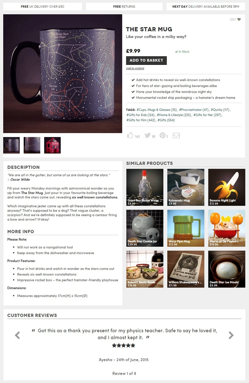 Mug description