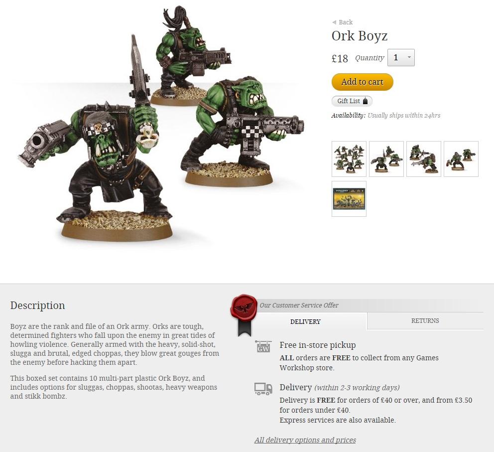 Orks description
