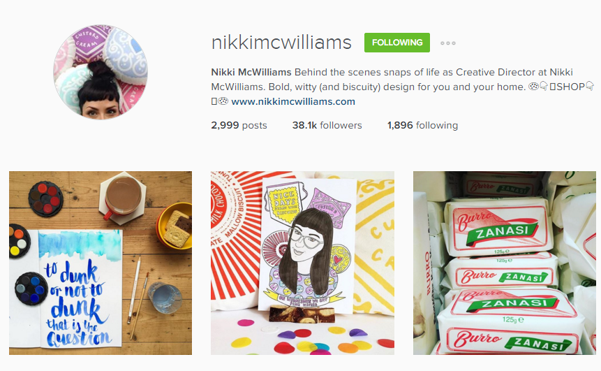 nikki mcwilliams instagram