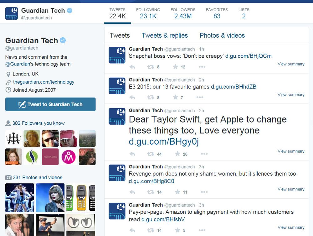 Guardian Tech Twitter