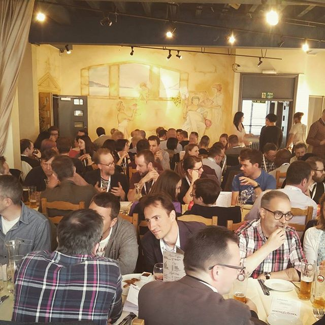 Evening dinner at #TDC16