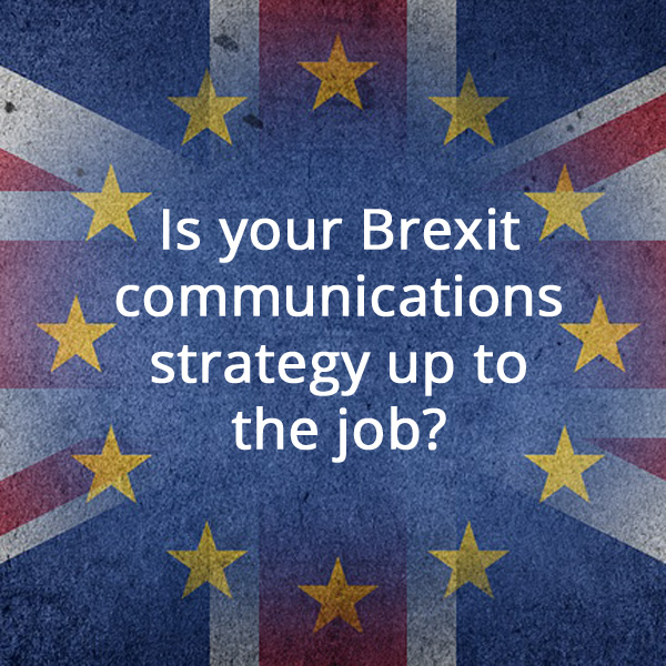 Brexit communications strategy