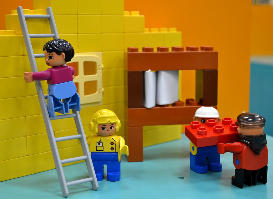 Lego smaller business