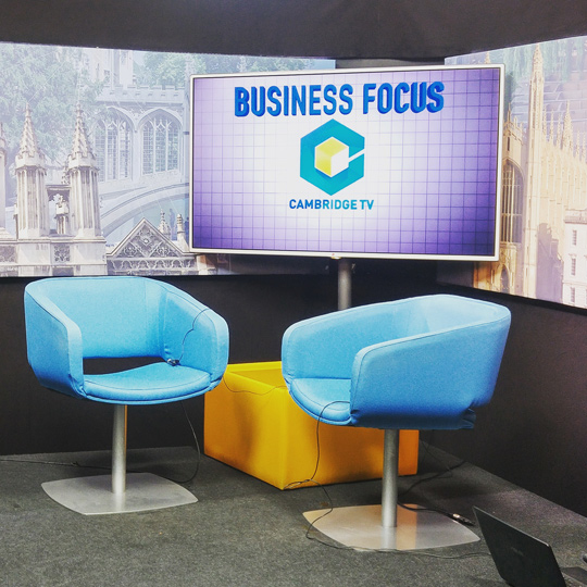 Sue Keogh on Cambridge TV Business Focus