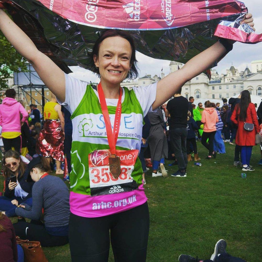 Sue Keogh London Marathon 2017