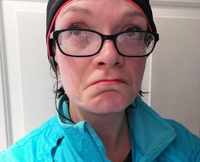 Sue Keogh marathon training
