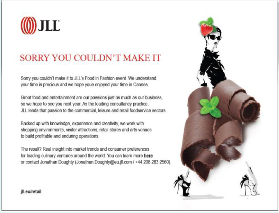 JLL MAPIC invitation