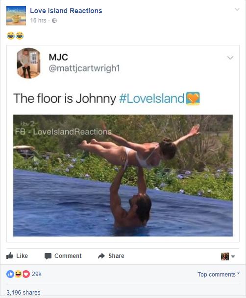 Love Island Jonny