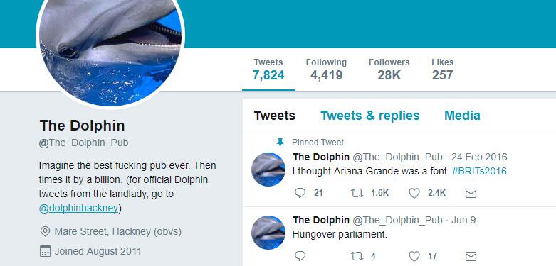 Dolphin pub